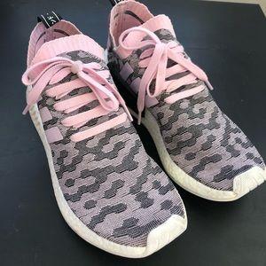 adidas NMD R2 Primeknit Shoes Wonder Pink